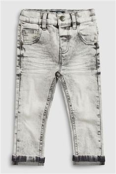Buy Light Grey Five Pocket Jeans With Stretch from the Next UK online shop ead33af375a1