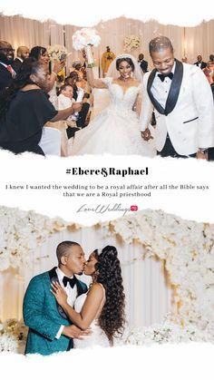 Ebere & Raphael's Royal Wedding in Houston Royal Priesthood, A Royal Affair, African Print Fashion, Bridesmaid Dresses, Wedding Dresses, Real Weddings, Houston, Fashion Dresses, Couples