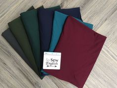 Modal Spandex French TerryMedium weight Stretch Loops are on the back side Really soft knit fabric. Listing is sold by the yard French Terry, Knitted Fabric, Teal, Fabrics, Yard, English, Spandex, Sewing, Knitting