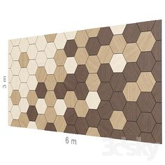 models: Other decorative objects - Decorative wall Tile Patterns, Textures Patterns, Acoustic Ceiling Panels, Tape Wall Art, Timber Walls, Wood Shop Projects, Wall Decor Design, 3d Warehouse, Wall Stickers Home Decor