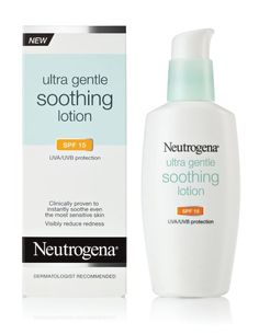 Neutrogena Ultra Gentle Soothing Lotion SPF 15, 4  Ounce