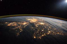 United Kingdom, Northern Lights and stars