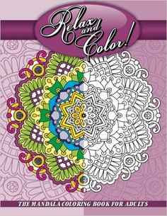 Sacred Mandala Designs and Patterns Coloring Books for Adults: Relax and Color! the Mandala Coloring Book for Adults by Lilt Kids Coloring Books Staff Paperback) for sale online Coloring For Kids, Adult Coloring, Coloring Books, Coloring Pages, Mandala Design, Coloured Pencils, Mandala Coloring, Pattern Design, Relax