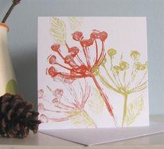 Jacqui Watkins - Linen Prints - New Design #art #linenprints #orange #seed #gallery #artist