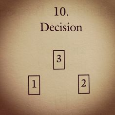 the-darkest-of-lights:  1-situation  2-task  3- decision   -complete book of tarot spreads