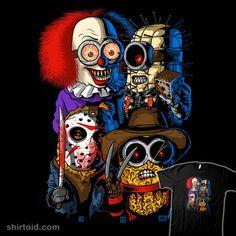 Mini Evil #Minion #DespicableMe #Pennywise #Pinhead #JasonVoorhees #FreddyKrueger