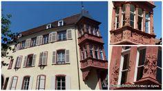 COLMAR(68)-Les belles fenêtres de Colmar!