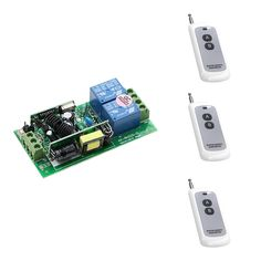 AC85V 110V 220V 250V RF Wireless Remote Control Radio Controller Switch High Power  2CH Receiver and 3 Transmitters High Quality #Affiliate