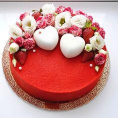 The Cake Lovers Board Fancy Cakes, Cute Cakes, Pretty Cakes, Beautiful Cakes, Amazing Cakes, Grandma Birthday Cakes, Dessert Design, Foto Pastel, Decoration Patisserie
