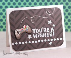 You're a Winner! (Boy Card) – Make a Card Monday #257 There is a video for this card