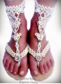 Galeria Bajka Soutache Jewelry: Soutache shoes - Magic Orient
