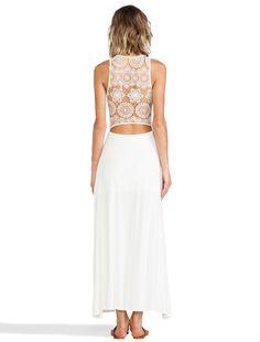 JARLO Maya Dress in Ivory