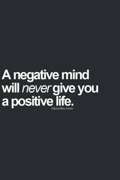#be #positive