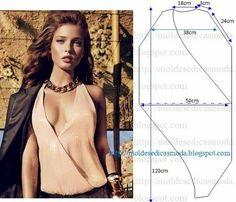 Moldes Moda por Medida: BLUSA FÁCIL DE FAZER - 35