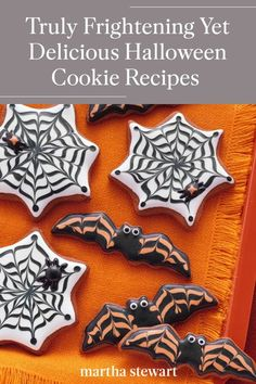 Biscuits Halloween, Halloween Cookie Recipes, Halloween Cookies, Halloween Treats, Halloween Party, Halloween Baking, Healthy Halloween, Halloween Dishes, Spooky Treats