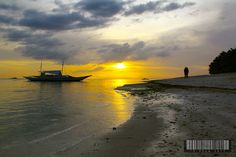 Sunset at Panglao Island, Bohol, Philippines by TC Chua, via Flickr