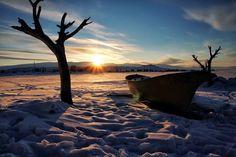 Ardahan ve Kars il sınırları içerisinde kalan Çıldır Gölü'nden…