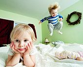 Now, who doesn't love jumping on the bed!?
