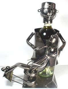 Wine Racks - New Dentist Wine Bottle Holder By Wine Bodies  100 Recycled Metal *** Check out the image by visiting the link.