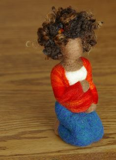 Felted Wool Pregnancy Sculpture by Beneath the Rowan Tree Diy Crafts For Gifts, Felt Crafts, Nuno Felting, Needle Felting, Birth Art, Sculpture Stand, 3d Figures, Felt Fairy, Wool Felt