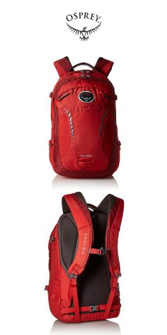 f19bddd7f Osprey - Parsec Daypack | Robust Red | Click for Price and More | Backpack  Ideas | Osprey Backpack | Osprey Pack | Backpacking Style | Hiking And  Trekking ...
