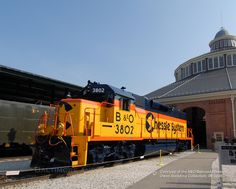 Chessie System...this is a pretty locomotive...really loved the cat.