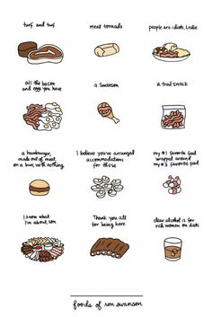 This poster to help you decide what to eat.   21 Products That Will Help You Embrace Your Inner Ron Swanson