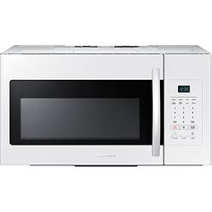 Samsung ME16H702SEW 1.6 Cu. Ft. 1000W Over-the-Range Microwave, White * More info could be found at the image url. #MicrowaveOven