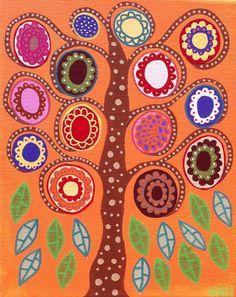 Check out this item in my Etsy shop https://www.etsy.com/listing/93517867/kerri-ambrosino-print-mexican-folk-art