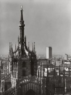 The Segmented Dome Covering of the Cathedral of Milan Photographic Print