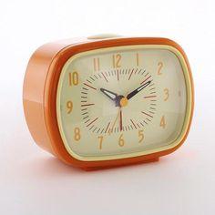 Alarm Clock Orange | dotcomgiftshop