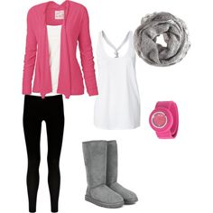 This outfit reminds me of my cousin who's style I've always envied a bit. Makes me miss her.