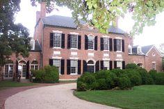 "Woodlawn Plantation   Alexandria, VA   Home of Eleanor ""Nelly"" Parke Custis (Martha Washington's granddaughter)"