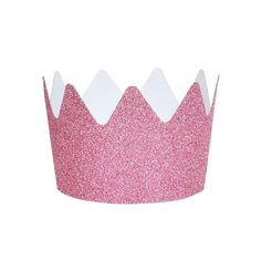 Pink Glitter Crowns (8 Pack) – Lucky Lulu Party Shop