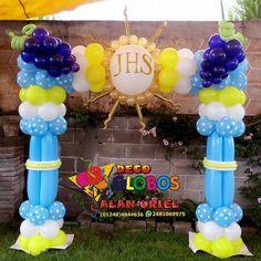 Balloon Gate, Ballon Arch, Balloon Columns, Balloon Stands, Balloon Display, Ballon Decorations, Birthday Party Decorations, Girl Baptism Party, Ballon Arrangement