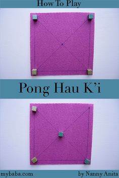 How to Play Pong Hau K'i a Traditional Chinese Game