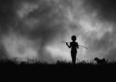 Black & White Storytelling Silhouettes by Hengki Lee
