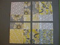 Quilt Blocks Love this pattern have done it in baby quilts 3 times each different color schemes !