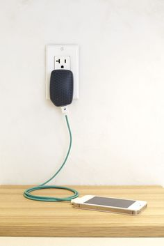 This eco-friendly USB charger uses a special software to ensure smartphones don't draw more power than they need.