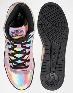 72e62e83e069 Image 3 of adidas Originals Rita Ora Instinct Multi Coloured High Top  Trainers Rita Ora Adidas