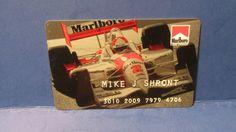 VINTAGE CHARGE CARD MARLBORO RACING TEAM 1997 PHILIP MORRIS HISTORY PHOTO # 2   | eBay