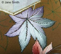 Japanese hand embroidery