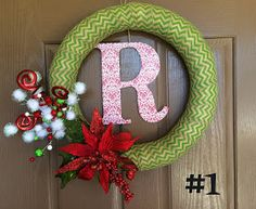 Marci Coombs: Christmas Wreaths.