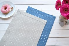 Check out this item in my Etsy shop https://www.etsy.com/listing/516012376/polka-dots-linen-placemat-dinning