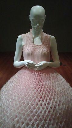 Junya Watanabe Honeycomb dress
