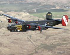 B-24, yes my friends hubby flew us!! (: