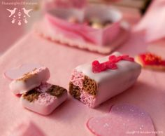 pretty valentine's day pictures | valentine's day cake, dollhouse miniature valentine's day food, faux ...