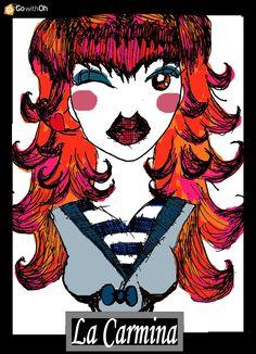 La Carmina Goth With Oh TShirt Entry 2 by R-L-A-George.deviantart.com