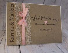 Ihr feiert eure Hochzeit und wünscht euch eine ganz besondere Einladung, Save the Date Karte oder Danksagung? Dann seid ihr bei uns genau richtig. Alle Karten werden nach euren Wünschen mit...