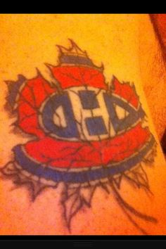 1000 images about montreal canadiens tattoos on pinterest for Montreal tattoo artists